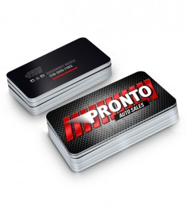Business Cards With Rounded Corners - 2 sides